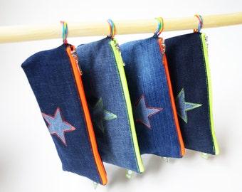 Federmäppchen Jeans