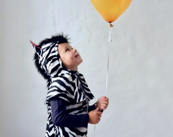 Kinderkostüm Zebra