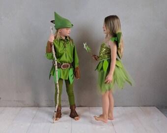 Peter Pan Kostüm SET