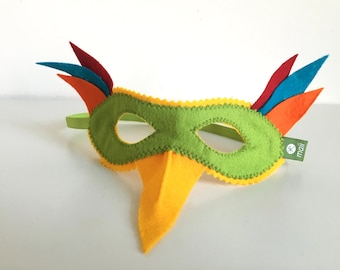 Paradiesvogel Maske