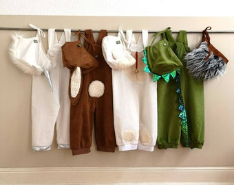 Baby-SET, Babypants + Cap, tiger, lamb, unicorn, dragon, lion, rabbit, Pants 12-18 month, dragon, hedghog, lamb, unicorn, tiger, lion,
