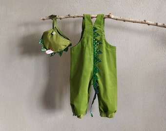 SET- Baby dragon, Costume Pants, Baby Pants 12-18 Months Baby Lion, Dungarees, Baby Pants, Lion Cub, Kids Costume, Baby Costume, Romper