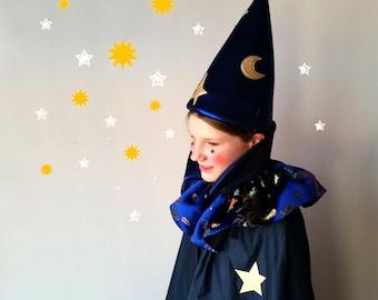 Magician Costume, Wizard, sorcerer, halloween, halloween costume, kids costume, costume for kids