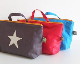Stern - large laundry bag, diaper bag, large children's culture bag, toiletry bag, bag, utensil, children's bag, pencil case, pen bag,