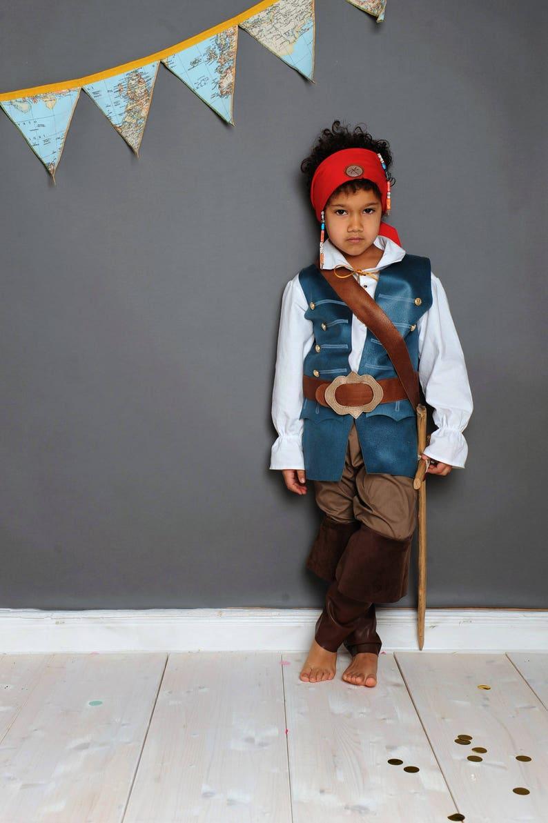 Pirata bambini moschettiere Costume da pirata costume  b41b559f6995