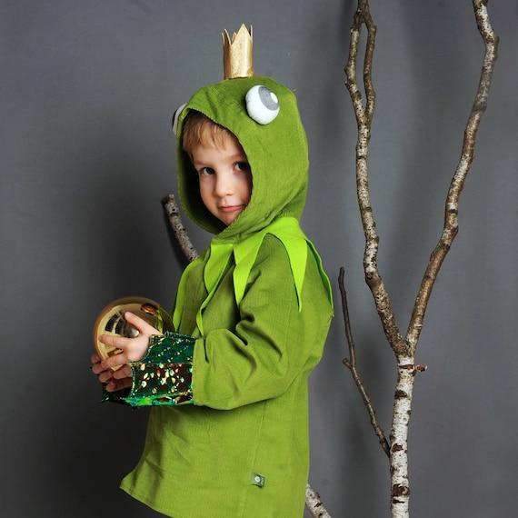 Frosch Kostum Froschkonig Kinderkostum Halloweenkostum Etsy
