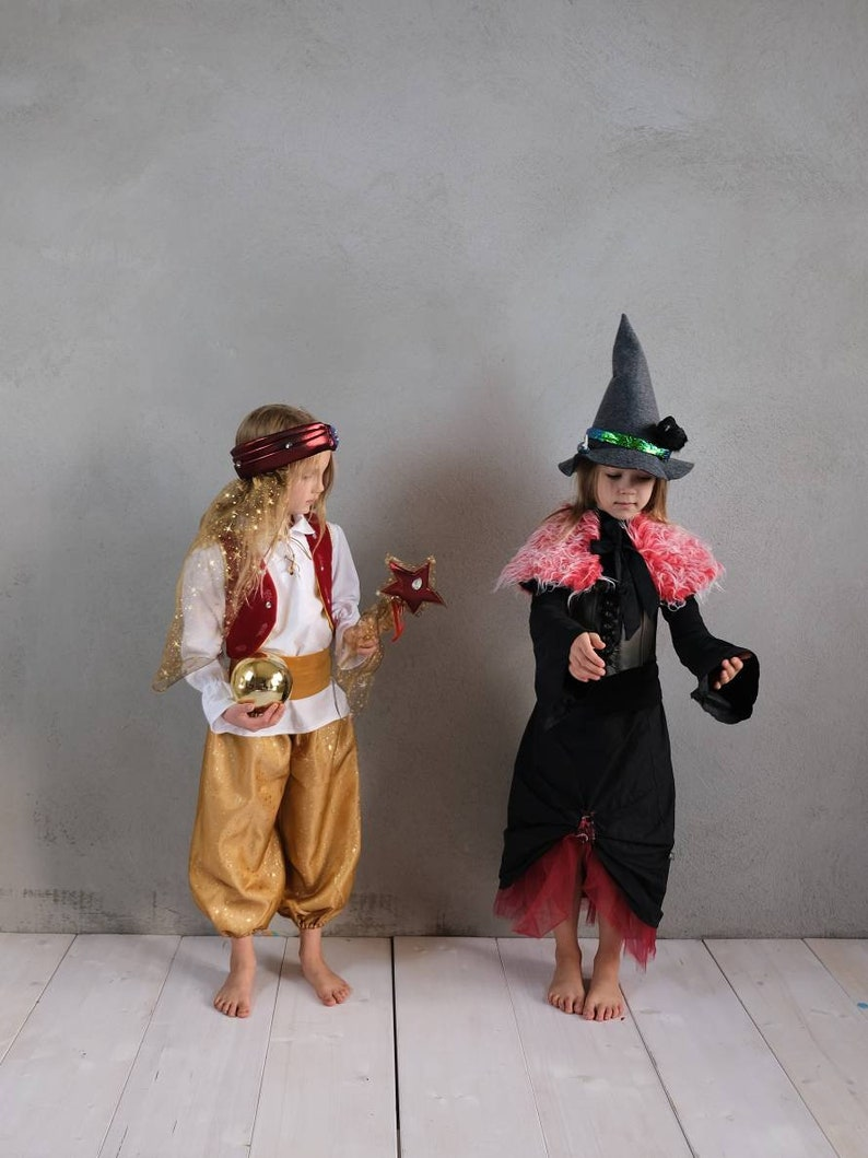 Disguise Witch Child Costume Witch Witch Costume Halloween Halloween Costume Childrens Toys Corsage Carnival Costume