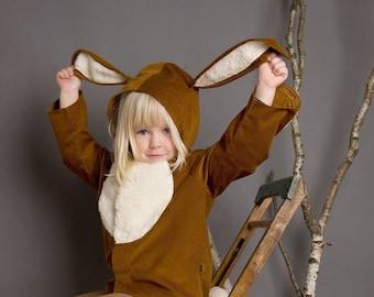 Rabbit Costume, Bunny, Rabbit, Kids Costume, Halloween, Halloween costume, animal costume, farm, farm costume, little rabbit