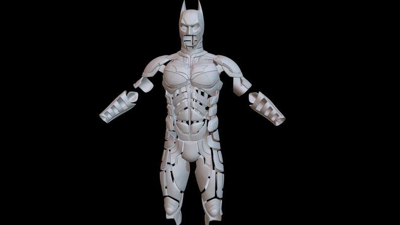 buy popular d1efe 555e0 Batman The dark knight Armor 3d print   Etsy