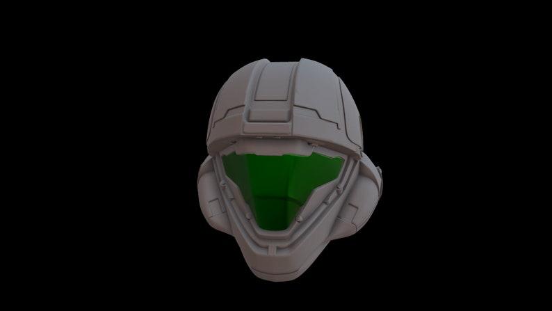 Halo 5 ODST Buck 3d print helmet