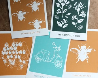 Thinking of You Variety Postcards (10 pack)