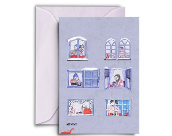 Home winter card
