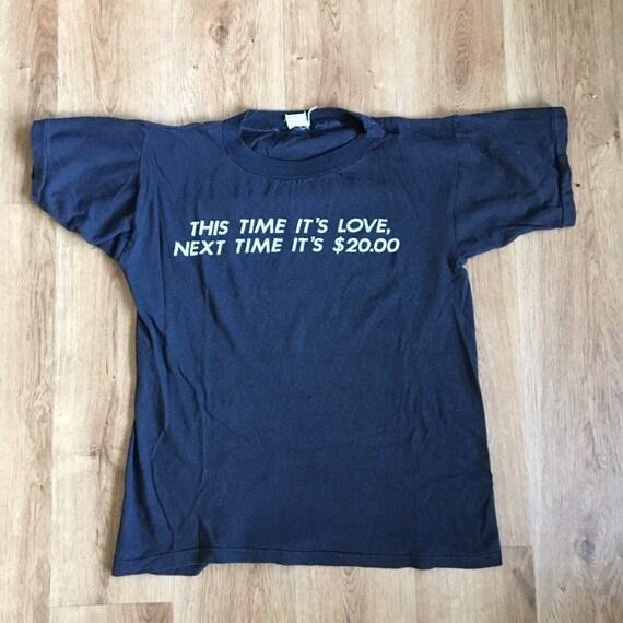 Vintage 80's funny t-shirt - image 4