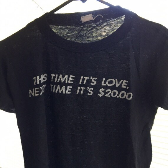 Vintage 80's funny t-shirt - image 2