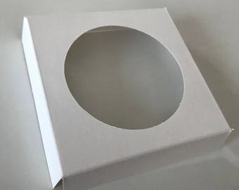1 Cupcake Insert for 1 Cupcake Box, White (Pack of 10)