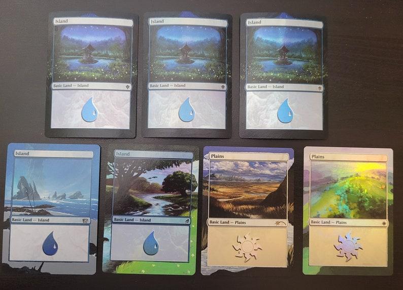 Magic the Gathering Foil Basic Land Border Extension Alter MOVING SALE