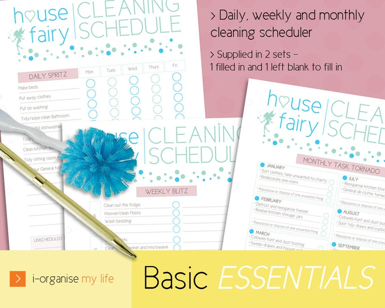 photo regarding Downloadable Scheduler titled Cleansing PLANNER, cleansing routine, loved ones planner, housework planner, cleansing planner, home planner, every day planner, downloadable