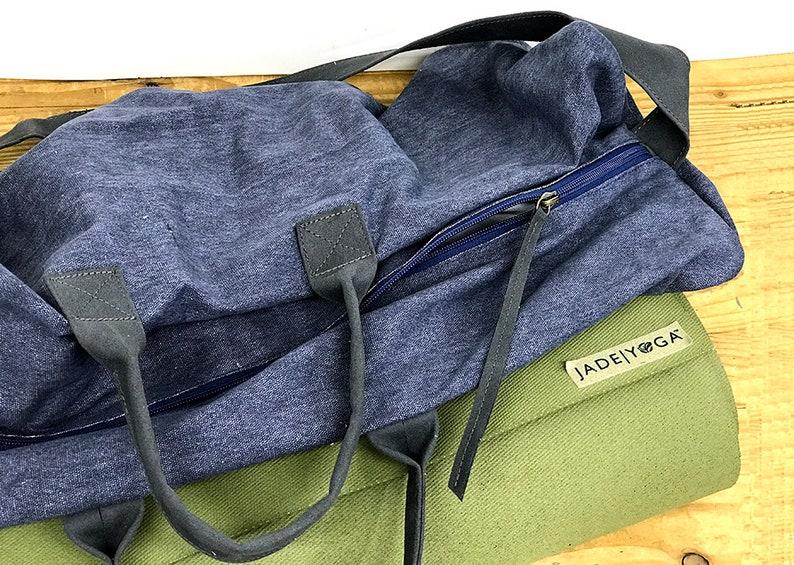 SALE Womens yoga bag Pilates mat bag Handmade Yoga Mat Bag Yoga mat tote Fitness bag Unisex bag for yoga mat and clothing