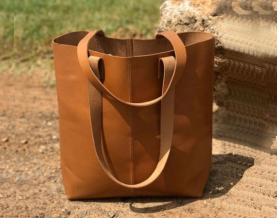 0aec6e14df63 Sale camel leather tote bag camel leather bag vegan camel etsy jpg 570x447 Camel  leather handbag