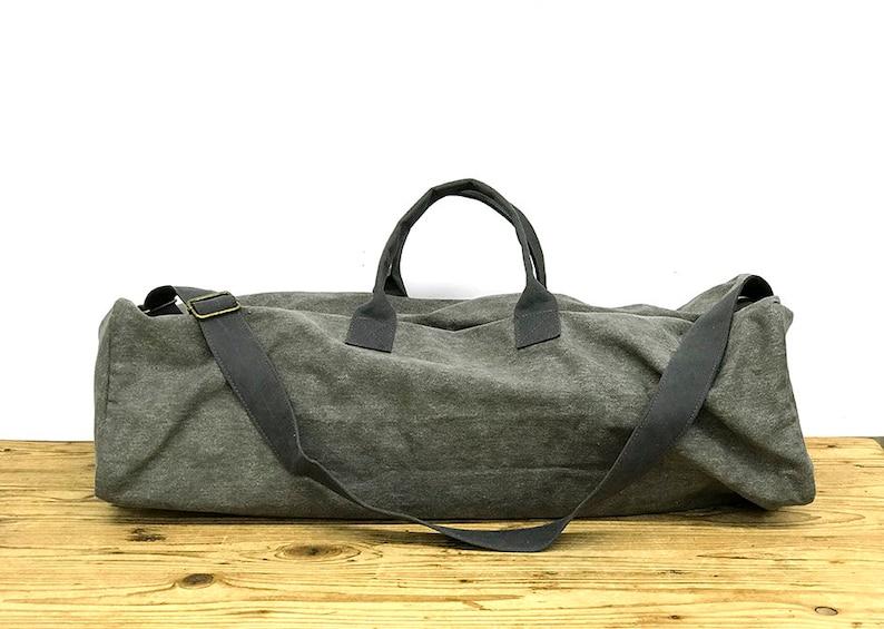 ea19e9471b9 SALE Yoga mat bag with zipper Eco Friendly Yoga Mat Carrier | Etsy
