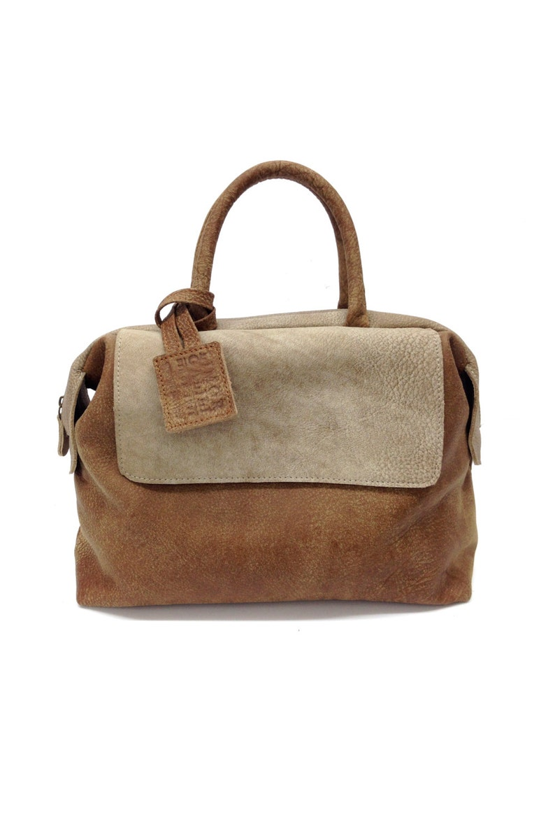 e41c9203be SALE Distressed Brown leather tote leather handbag bag in