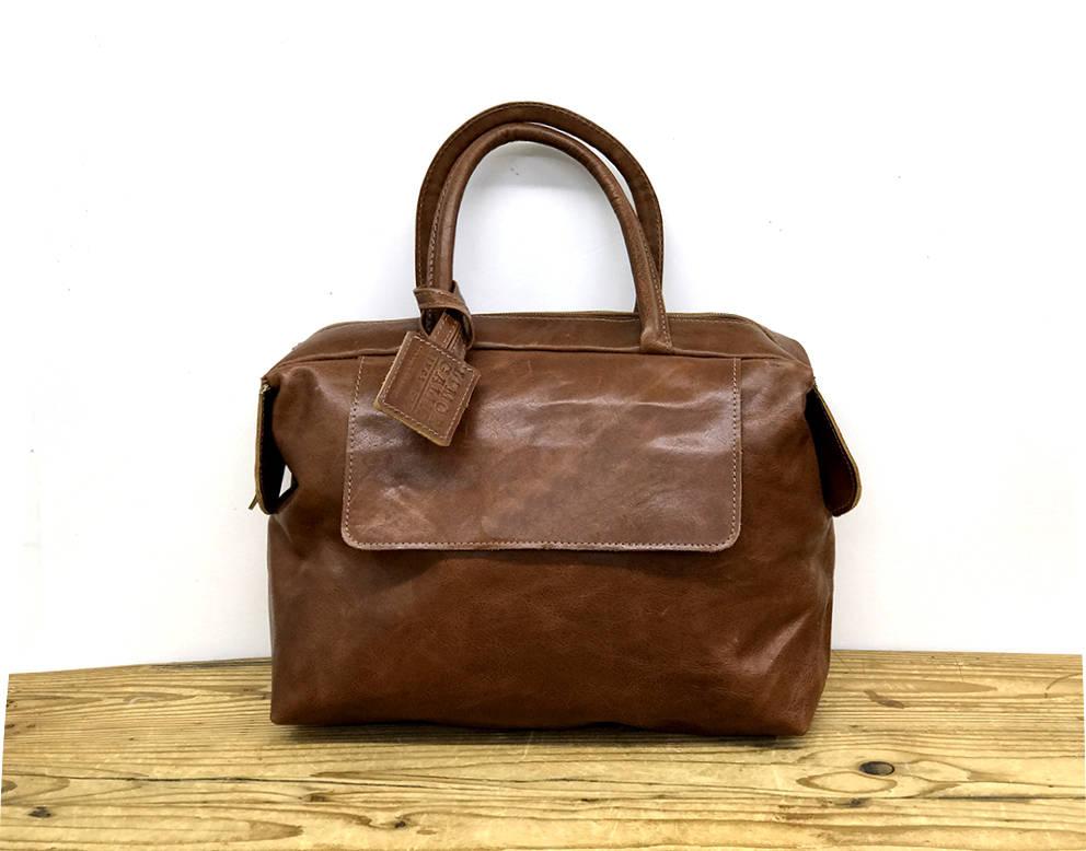 3a3bceb06 Sale Small Leather handbag Cognac leather purse Top handles   Etsy