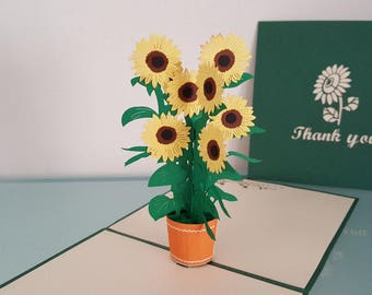 Sunflower ( available in Thank You/Get Well Soon/Happy Birthday/Blank)