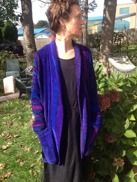 Handwoven Bibi Stein Chenille jacket