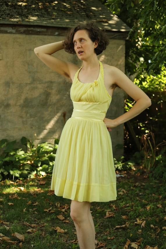 Chiffon Party Dress - image 1