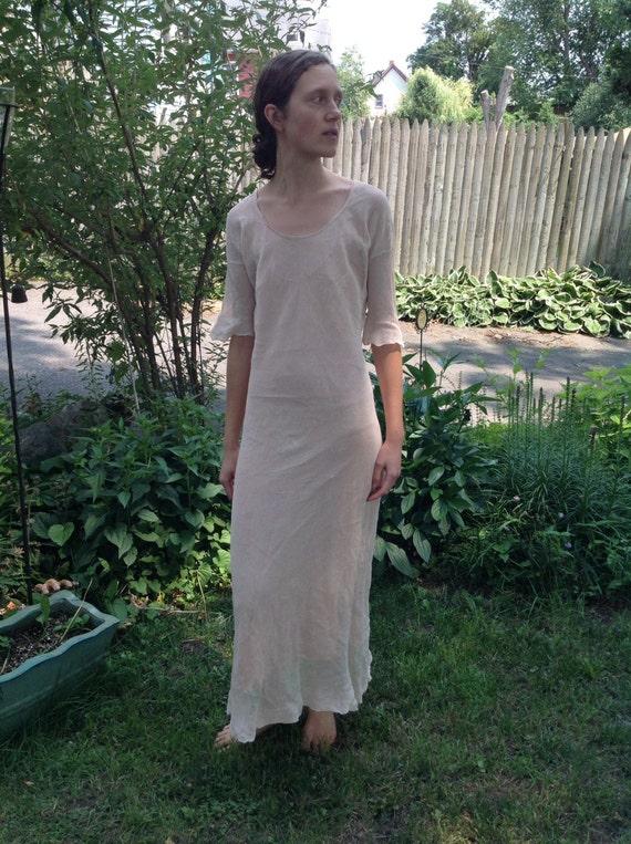 SALE Irena Gregori Long Dress and Slip