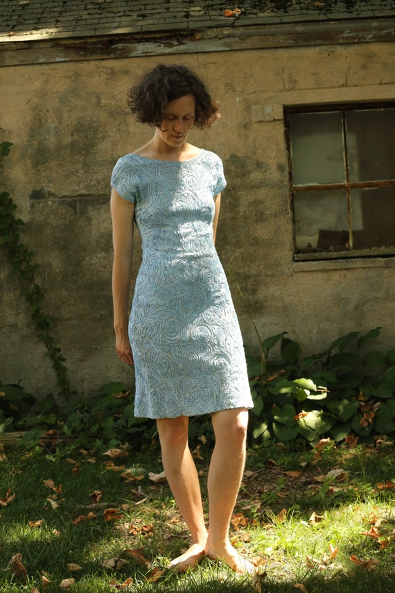 Sale Exquisite 60's Ribbon Dress