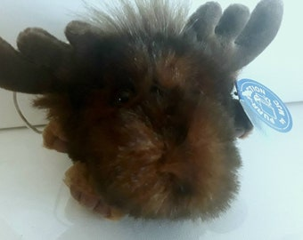 Mini Harley by Purr-Fection MJC, Birth Certificate Ear Tag, Like New Shape this Cute Little Moose needs a Home, Gift for young at heart