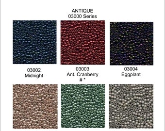 00020-00968 Choose with cheap shipping. seed beads New Mill Hill Beads