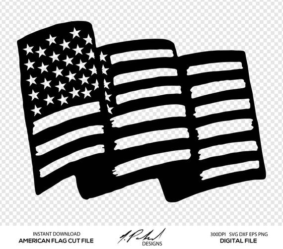 American Flag Digital Cut Files Digital Files American Etsy