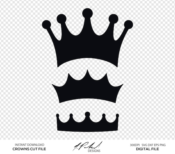 Crown Cut File Birthday Crown Svg Crown SVG Crown SVG Bundle King Crown Svg Crown Clipart Crown Silhouette Princess Crown Svg