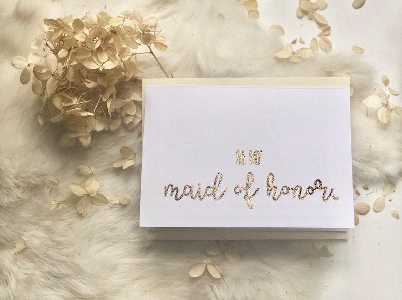 Be my bridesmaid card image 0