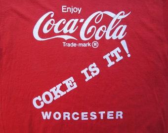 b880cb1c5 Vintage Coca Cola T Shirt circa the 70's