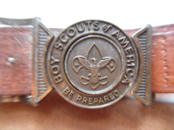 Vintage Boy Scouts Belt circa the 40's