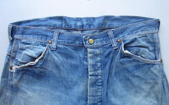 Vintage Sanforized Jeans circa the 40's
