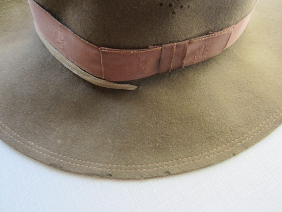 Vintage Boy Scouts Hat circa the 50's - image 1