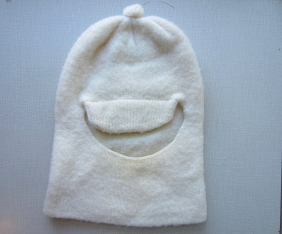 Vintage Wool Face Mask circa the 60's