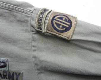 Vintage U S Army AIrborne Jacket circa the 60's