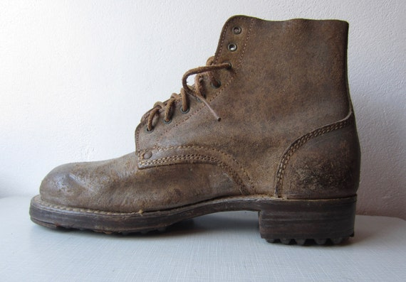 Vintage German Ice Boots circa the 40's