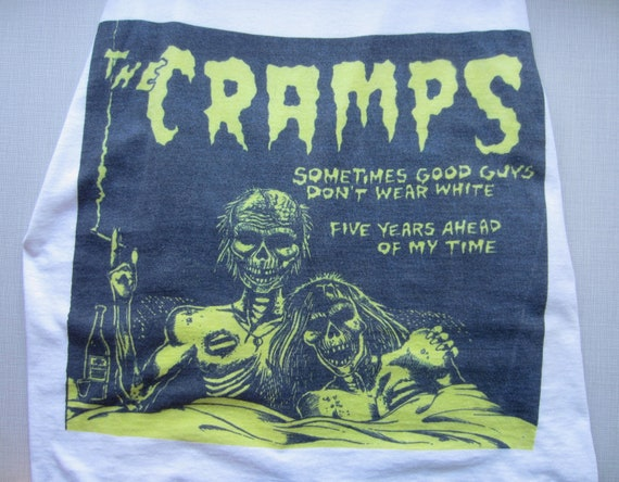 Vintage Cramps T Shirt circa the 90's