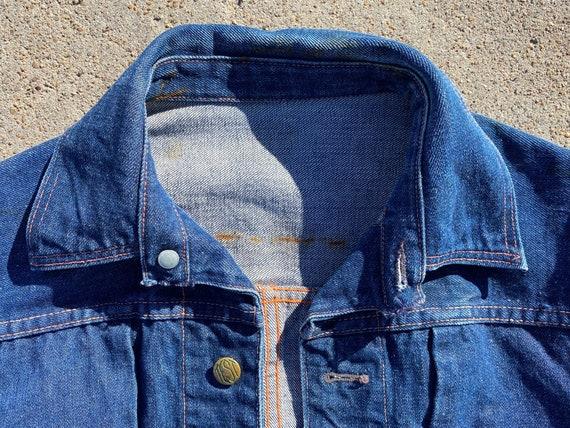 Vintage Test Denim Jacket circa the 40's