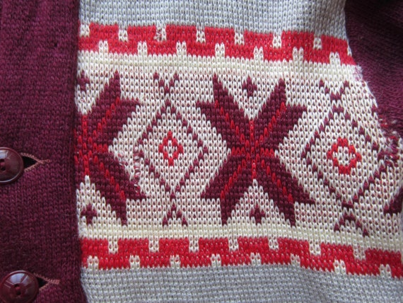 Vintage Sportswear Sweater circa the 50's