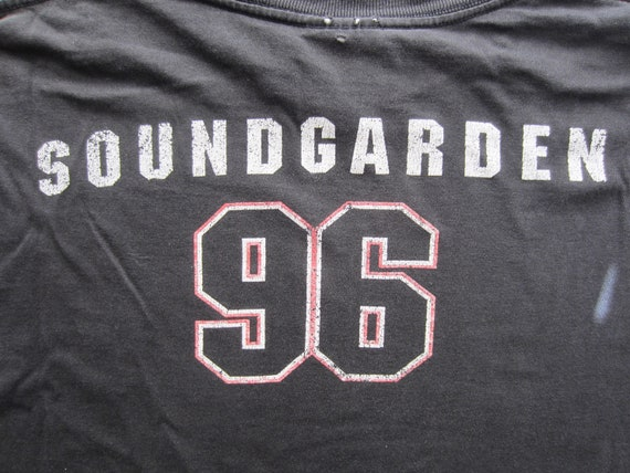 Vintage Soundgarden Tour T Shirt circa 1996 - image 1