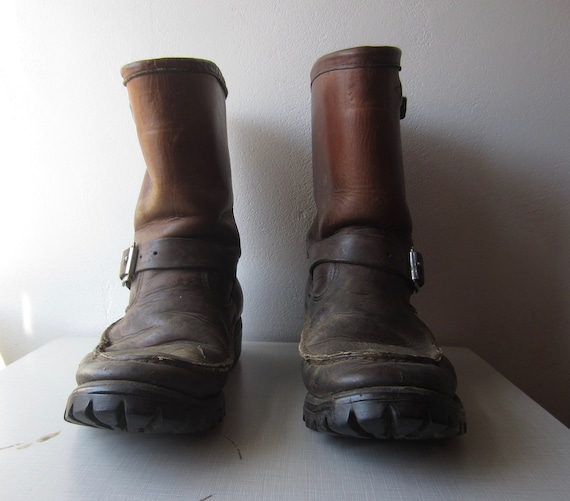 Vintage Motorcycle Boots circa the 70's
