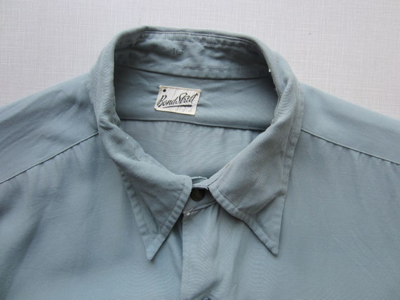 Vintage Bond Street Shirt circa the 50's