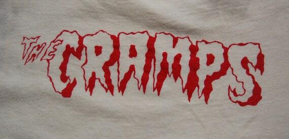 Vintage Cramps Punk Rock T Shirt circa the 80's